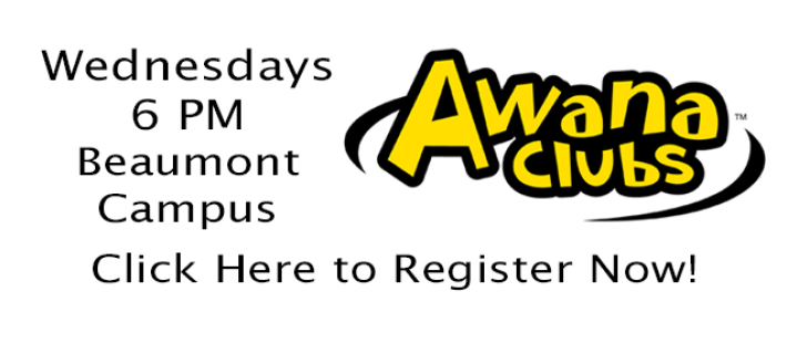 AWANA Registration - Beaumont Campus
