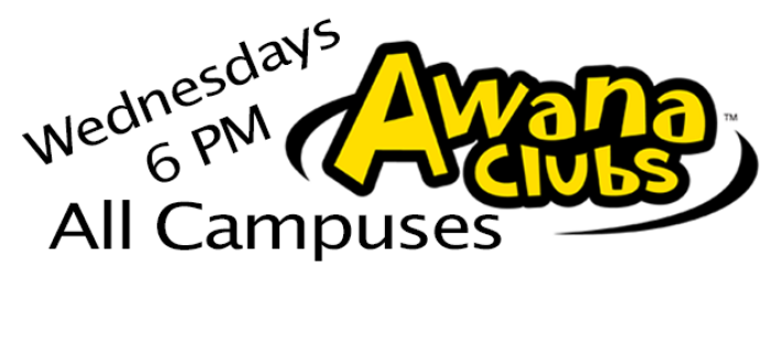 AWANA Clubs - Wednesdays @ 6 PM