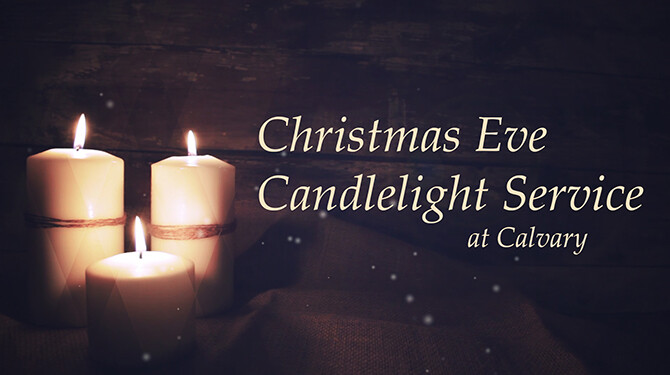 Christmas Eve Candlelight Service - Beaumont Campus